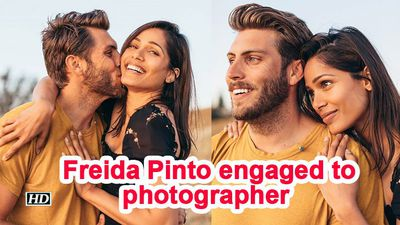Freida Pinto engaged to photographer