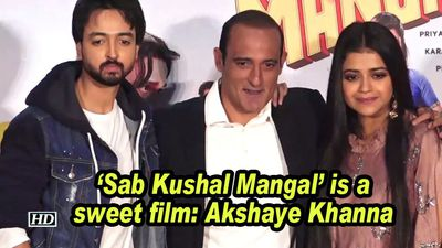 Sab kushal mangal is a sweet film akshaye khanna