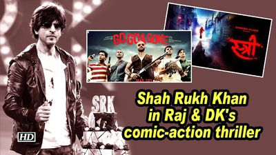 Shah rukh khan in raj dks comicaction thriller