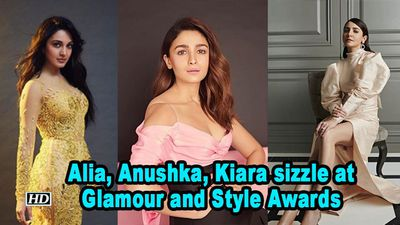 Alia anushka kiara sizzle at glamour and style awards