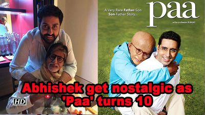 Abhishek get nostalgic as paa turns 10