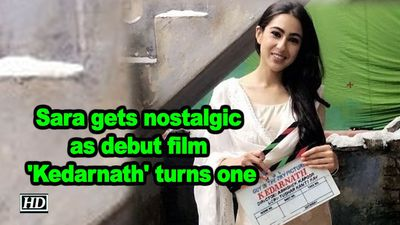Sara ali khan gets nostalgic as debut film kedarnath turns one