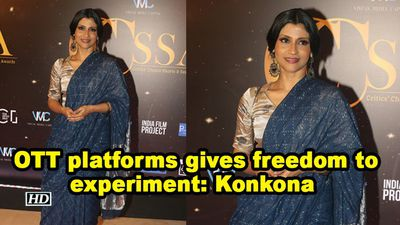 Ott platforms gives freedom to experiment konkona