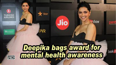 Deepika bags award for mental health awareness