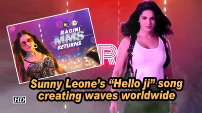Sunny leones hello ji song creating waves worldwide