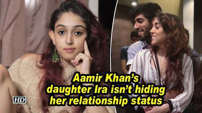 Aamir khans daughter ira isnt hiding her relationship status
