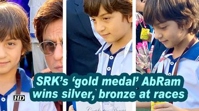 Srk s gold medal abram wins silver bronze at races