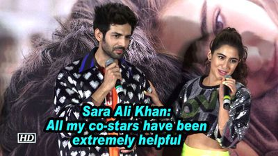 Sara ali khan all my costars have been extremely helpful