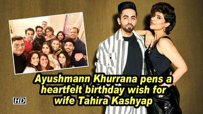 Ayushmann khurrana pens a heartfelt birthday wish for wife tahira kashyap