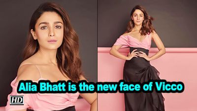 Alia bhatt is the new face of vicco
