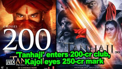 Tanhaji enters 200cr club kajol eyes 250cr mark