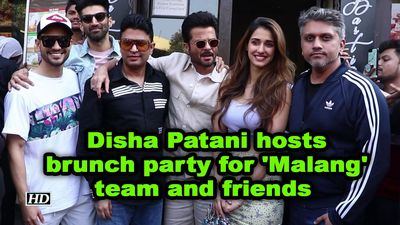 Disha patani host brunch party for malang team and friends