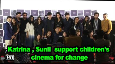 Katrina kaif sunil grover support childrens cinema for change
