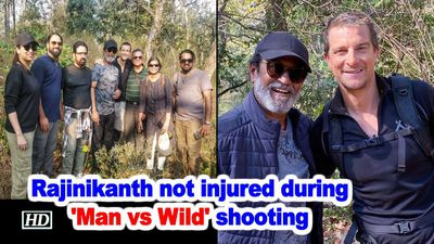 Rajinikanth not injured during man vs wild shooting