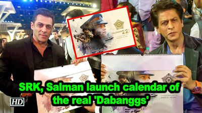 Srk salman launch calendar of the real dabanggs