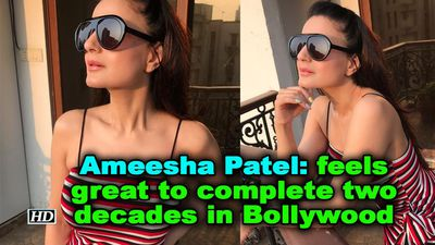 Ameesha patel feels great to complete two decades in bollywood