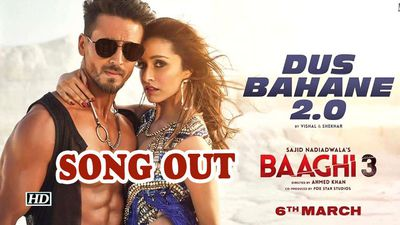 Dus bahane 20 party anthem in baaghi 3 song out