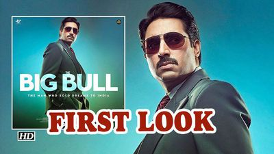 Abhishek bachchan starrer the big bull first look poster out