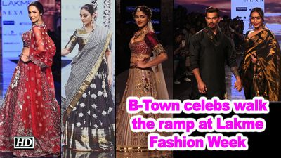 Malaika Arora and other B-Town celebs walk the ramp at Lakme Fashion Week