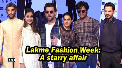 Lakme Fashion Week: A starry affair