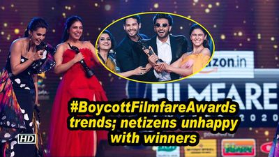 #BoycottFilmfareAwards trends; netizens unhappy with winners