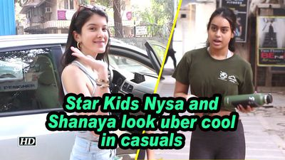 Star Kids Nysa and Shanaya look uber cool in casuals