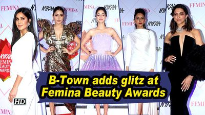 B-Town adds glitz at Femina Beauty Awards
