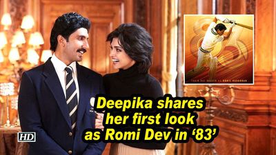 Deepika shares her first look as Romi Dev in '83'
