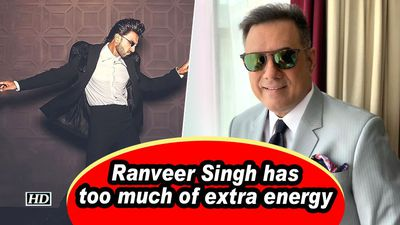 Ranveer Singh has too much of extra energy: Boman Irani