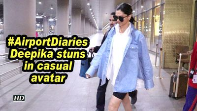 #AirportDiaries| Deepika stuns in casual avatar