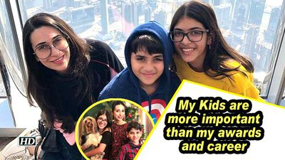 Karisma: My Kids are more important than my Awards and Career