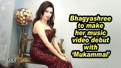 Bhagyashree to make her music video debut with 'Mukammal'