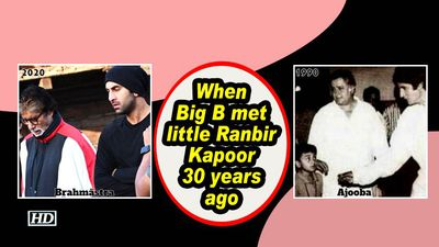 When Big B met little Ranbir Kapoor 30 years ago