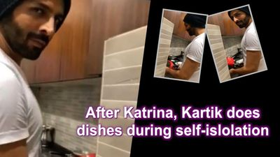 After Katrina Kartik do the dishes during self islolation