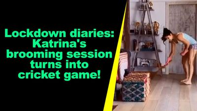 Lockdown diaries Katrina brooming session turns into cricket game