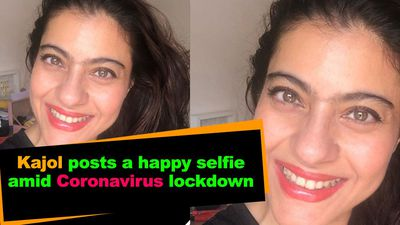 Kajol posts a happy selfie amid Coronavirus lockdown