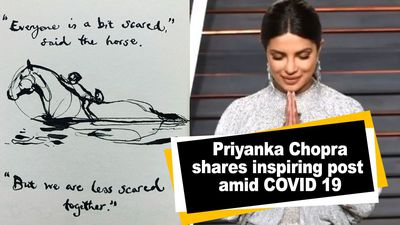 Priyanka Chopra shares inspiring post amid COVID 19