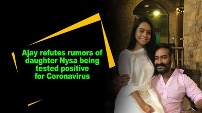 Ajay refutes rumors of daughter Nysa being tested positive for Coronavirus