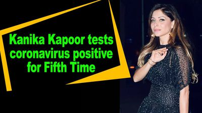 Kanika Kapoor tests COVID19 positive for fifth time