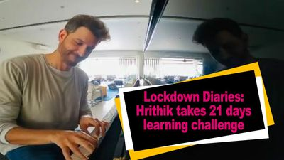 Lockdown Diaries Hrithik takes 21 days learning challenge