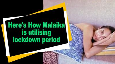 Here How Malaika is utilising lockdown period