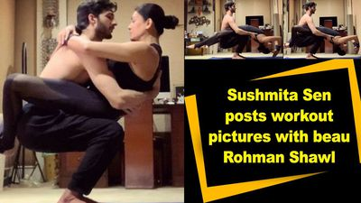 Sushmita Sen posts workout pictures with beau Rohman Shawl