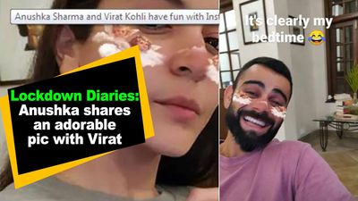 Lockdown Diaries Anushka shares an adorable pic with Virat