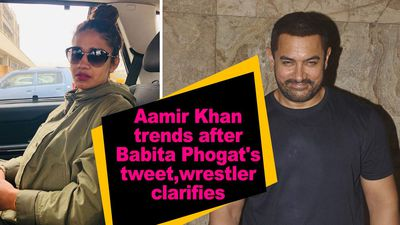 Aamir Khan trends after Babita Phogat tweet wrestler clarifies