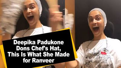 Deepika Padukone Dons Chef Hat This Is What She Made for Ranveer