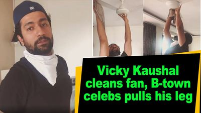 Vicky Kaushal cleans fan Btown celebs pulls his leg