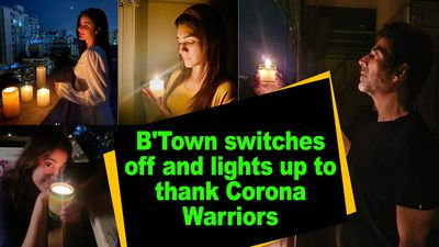 BTown switches off and lights up to thank Corona Warriors