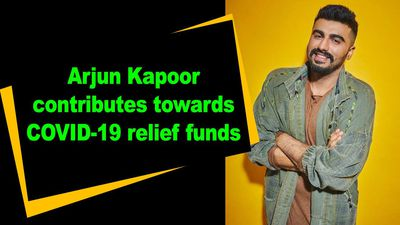 Arjun Kapoor contributes towards COVID19 relief funds