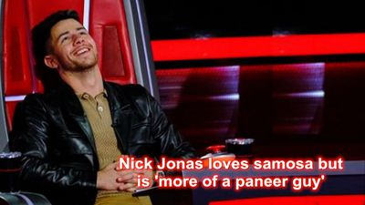 Nick Jonas loves samosa but is more of a paneer guy