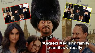 Angrezi Medium family reunites virtually